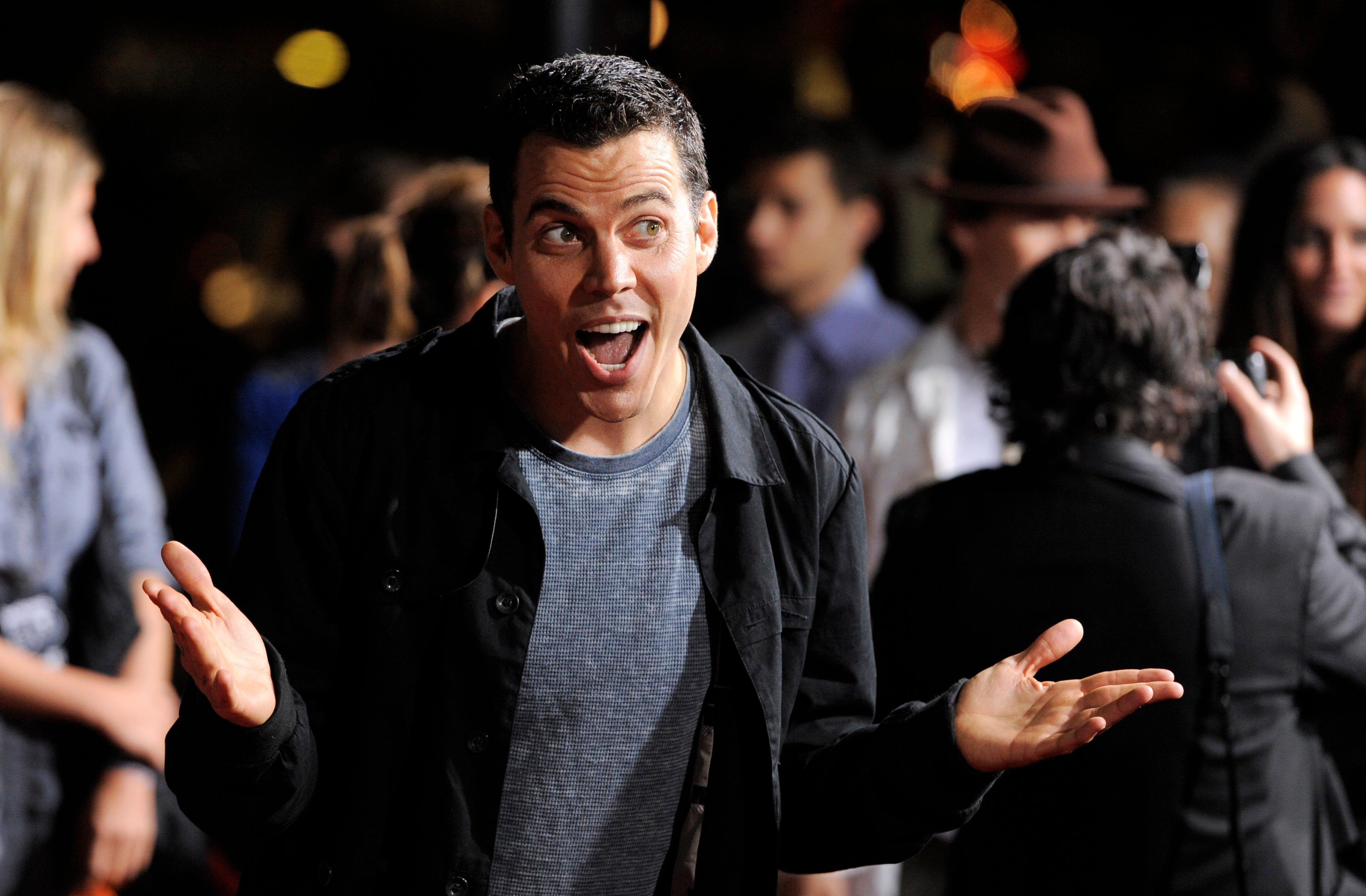 Jackass Forever : Johnny Knoxville, Steve-O reunite for  more mature  film. Yeah, right.