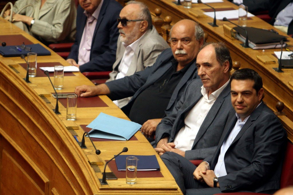 Greece's parliament approves third bailout