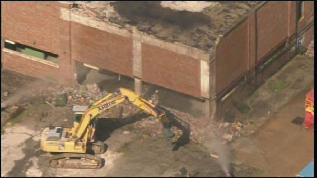 Demolition begins on Carter Carburetor plant
