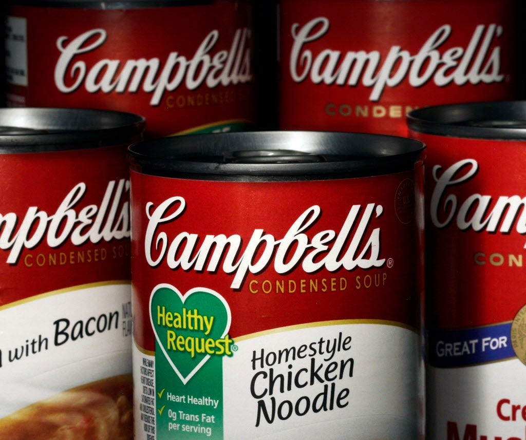 Campbell Soup expands its menu with purchase of Pacific Foods of Oregon