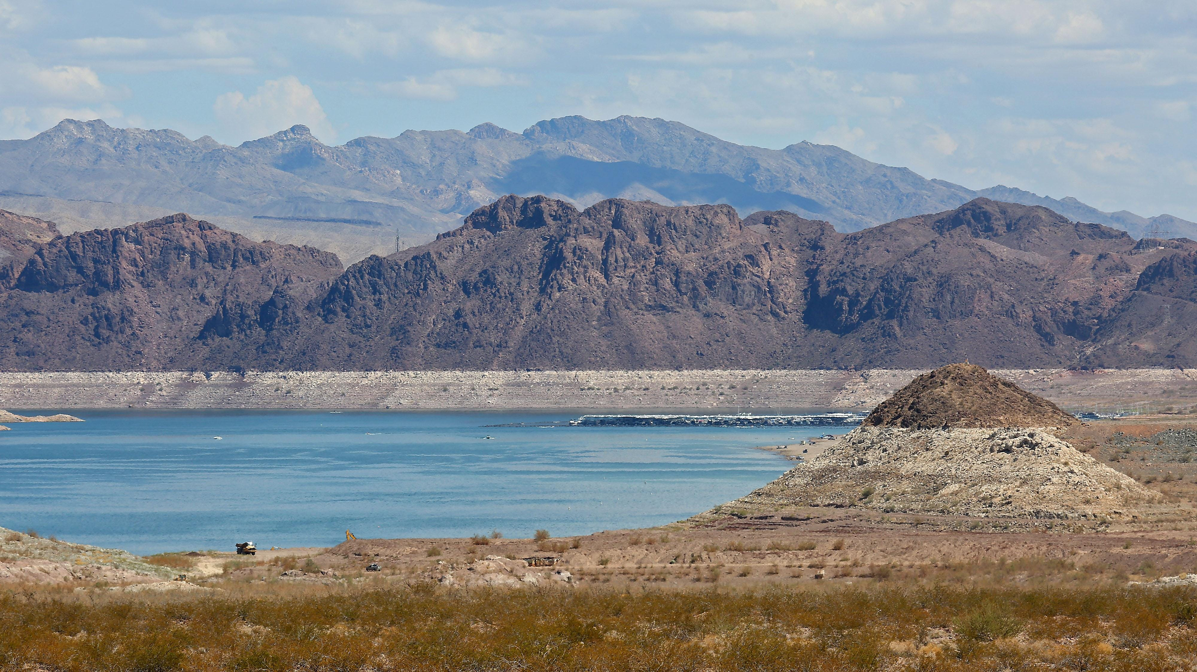Lake Mead has been declining for years, with the reservoir's level reaching record lows.