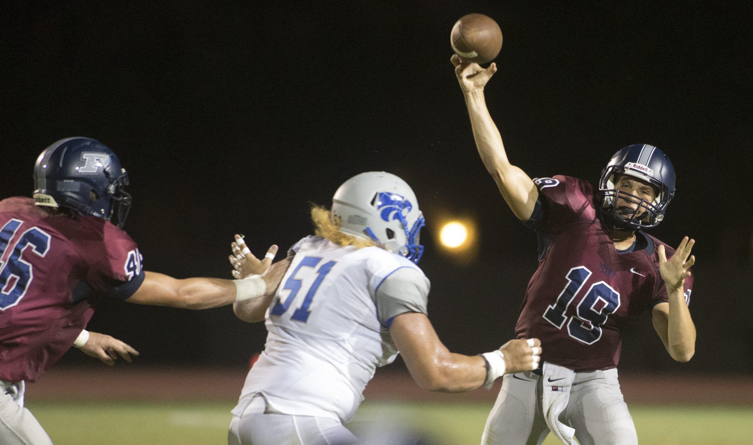 High school football: Mesquite at Gilbert Perry