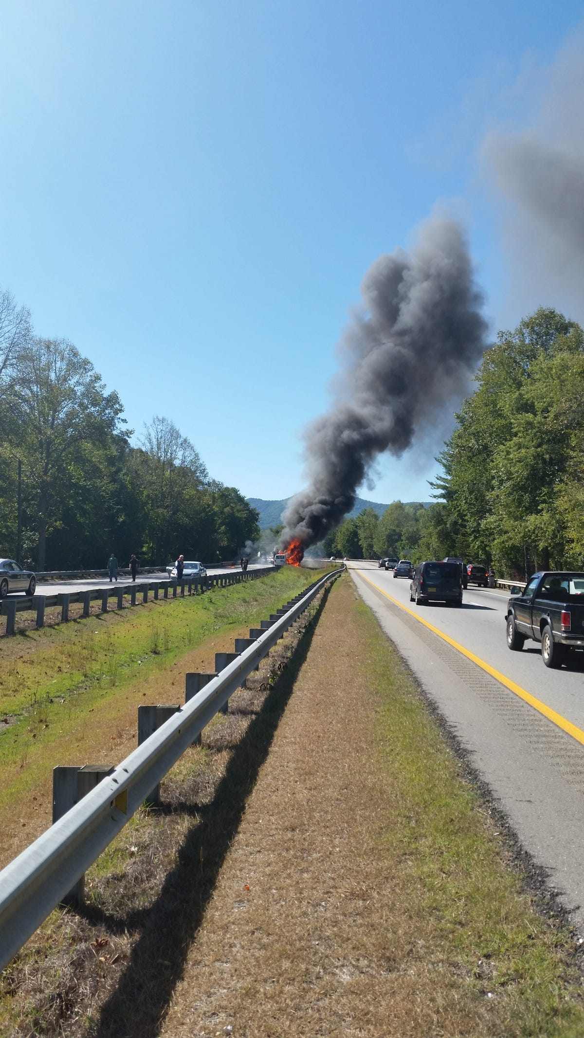 Wreck shuts I-40 west of Asheville