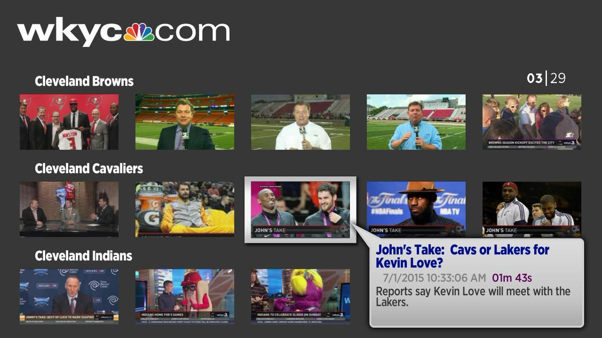 WKYC channel now available on Roku