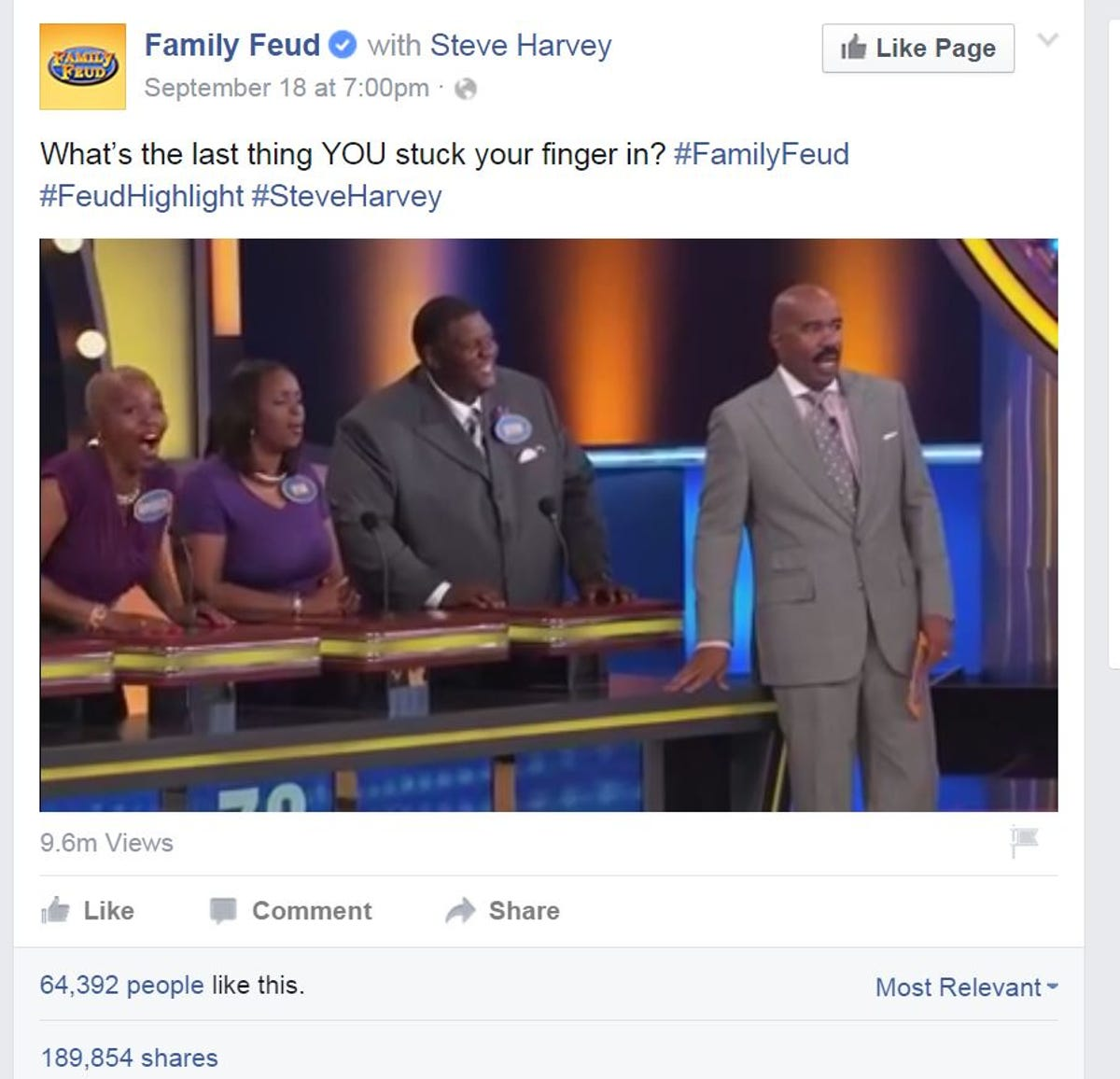 WATCH: Man gives Steve Harvey the best Family Feud answer ever