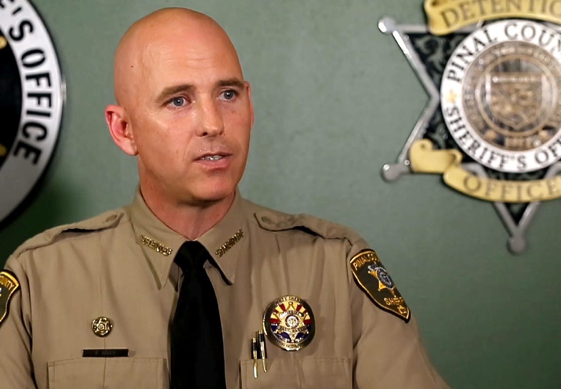 Former Pinal County Sheriff Paul Babeu, ex-County Attorney Lando Voyles subject of FBI probe