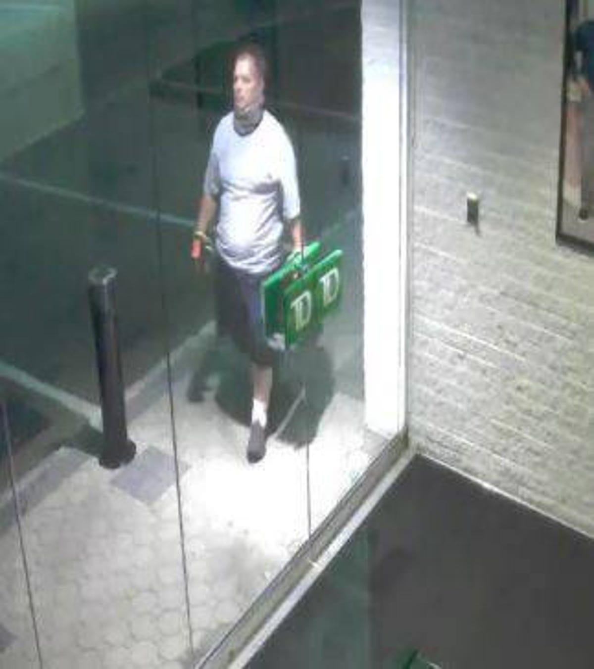 Suspect in series of TD Bank burglaries arrested