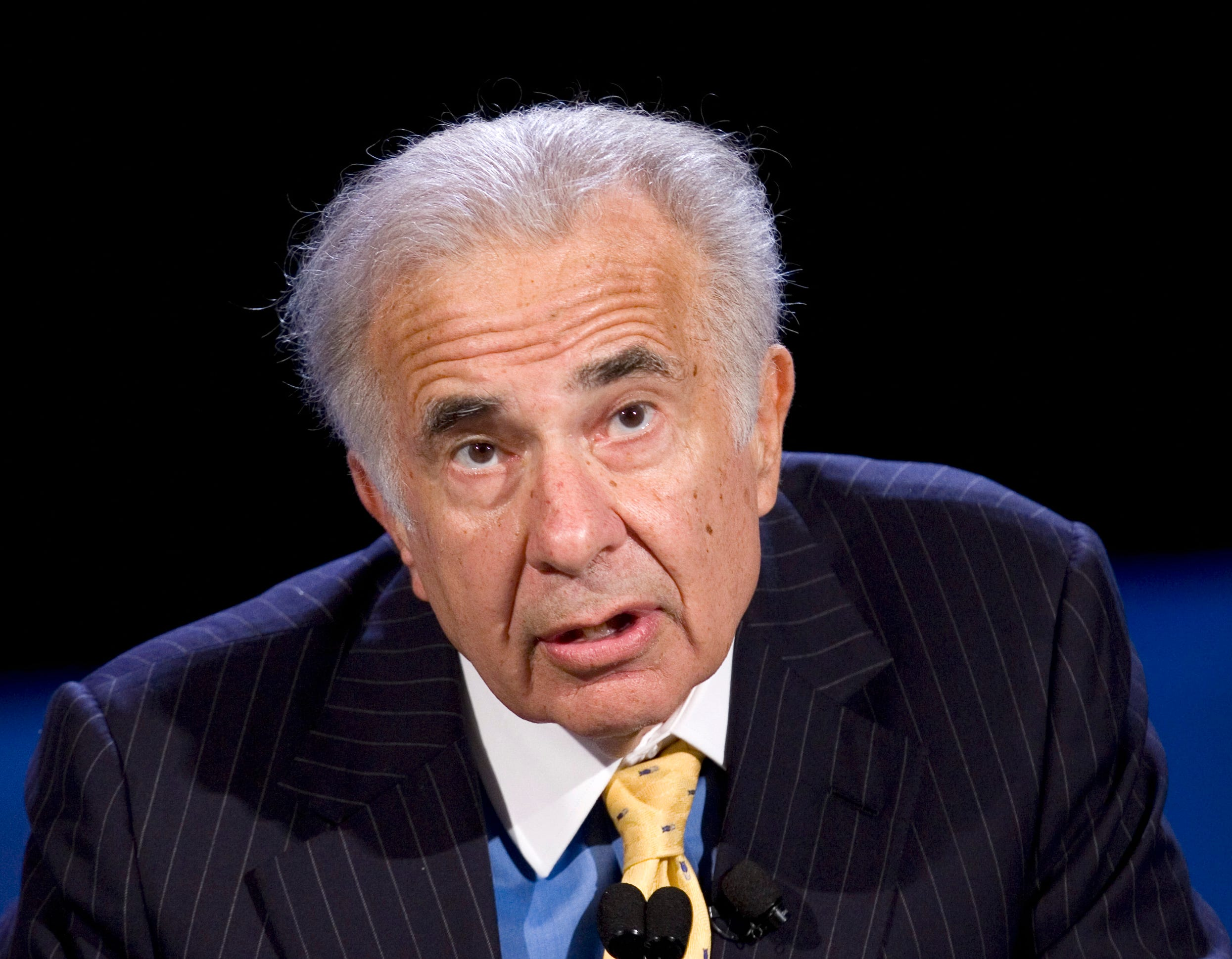 Icahn calls for AIG to break into three parts