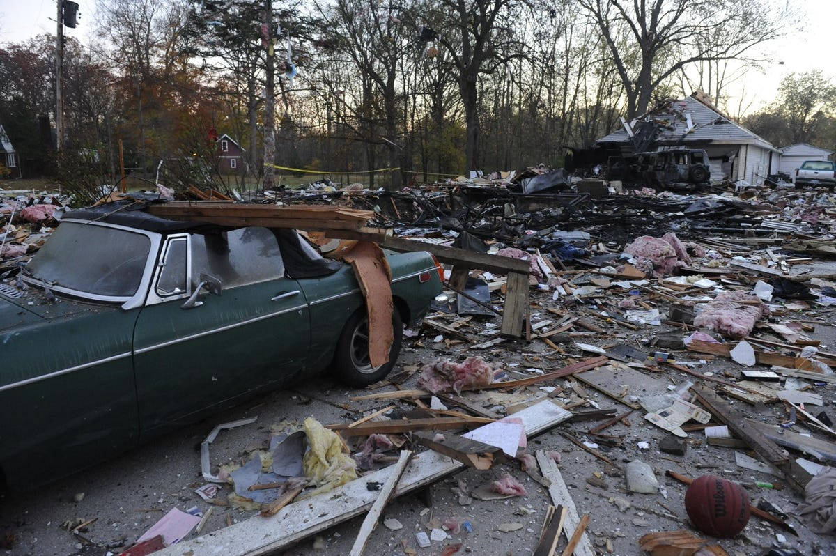Exploded home in Redford, Michigan wasn't hooked up to DTE system