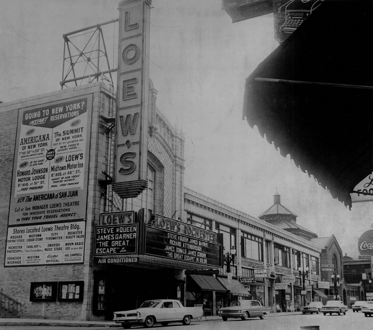 Whatever Happened To     neighborhood movie theaters?
