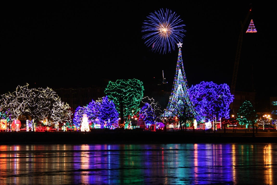 Seven Stunning Wisconsin Holiday Light Shows