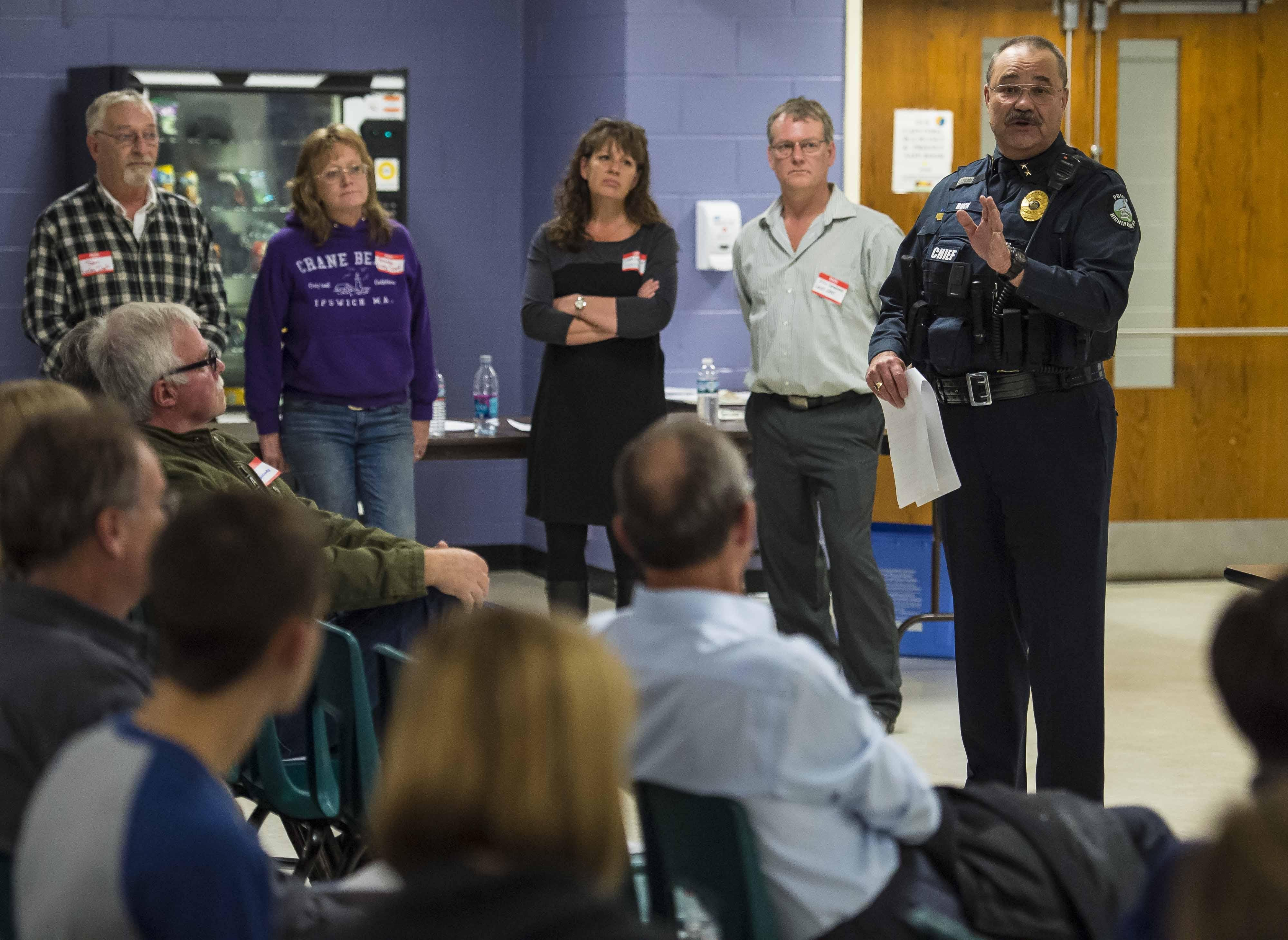 Richmond police chief 'stable and recovering'