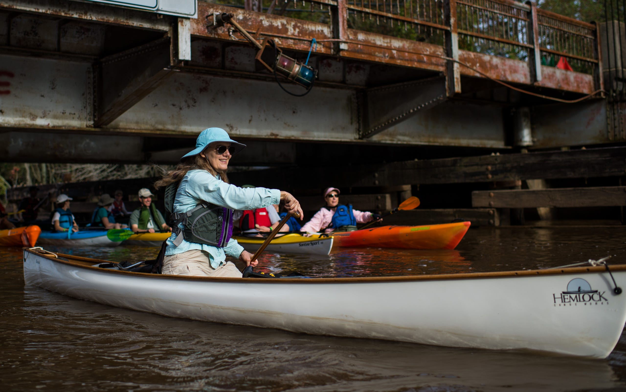 Black Friday Protest Paddle With Pack Paddle