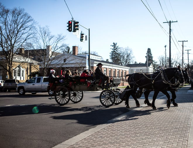 While many things will be different during the 2020 Granville Christmas Candlelight Walking Tour because of COVID-19, carriage rides are still planned to be offered Dec. 5.