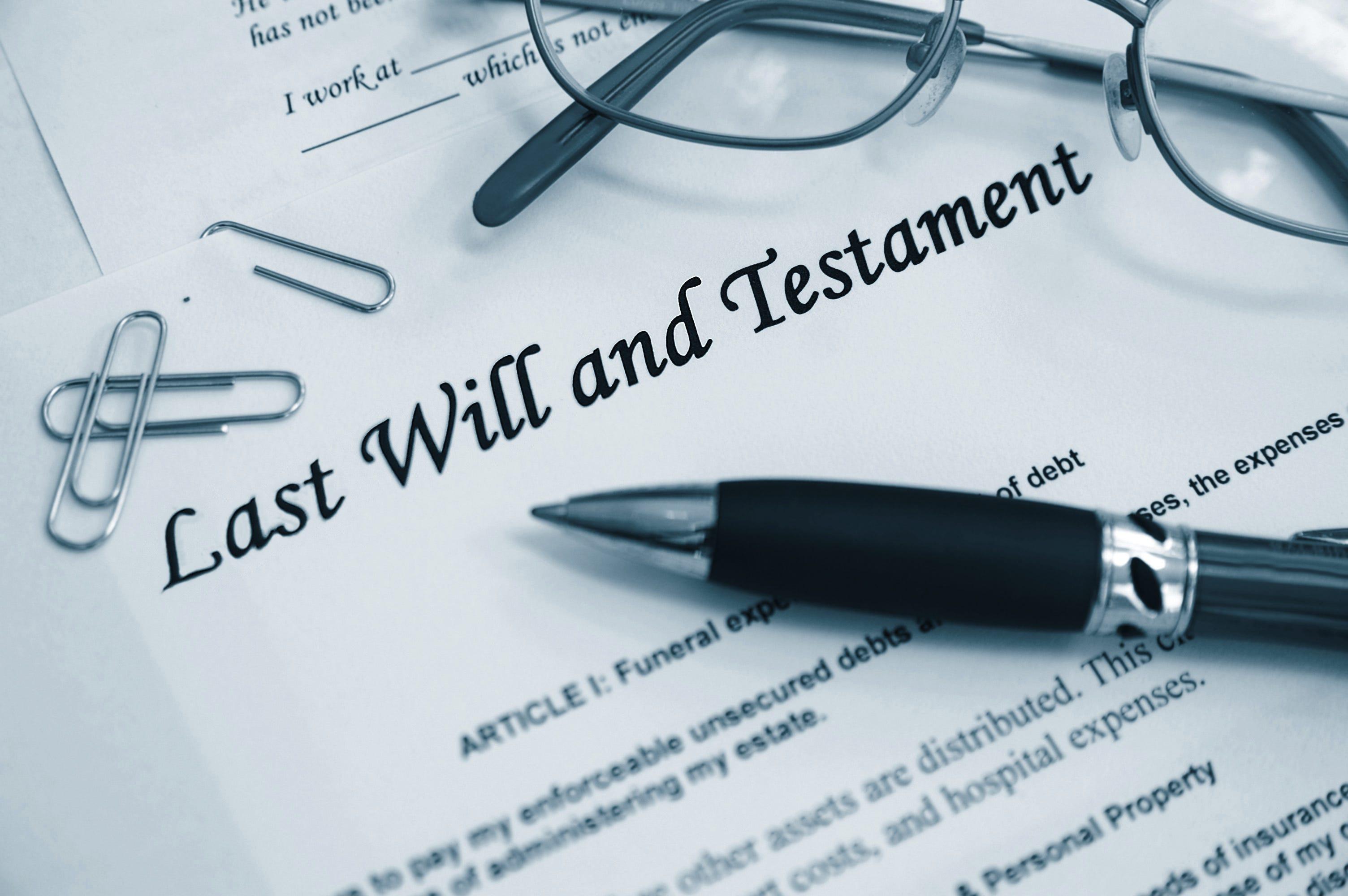 A lower stress inheritance plan