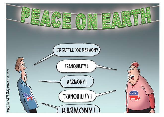 Peace on Earth?  Start with peace in America
