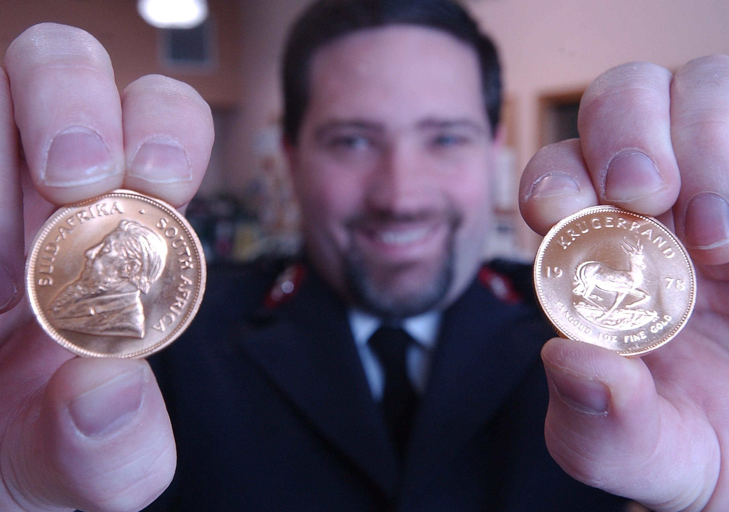 Photos Fort Collins Mystery Krugerrand Donor