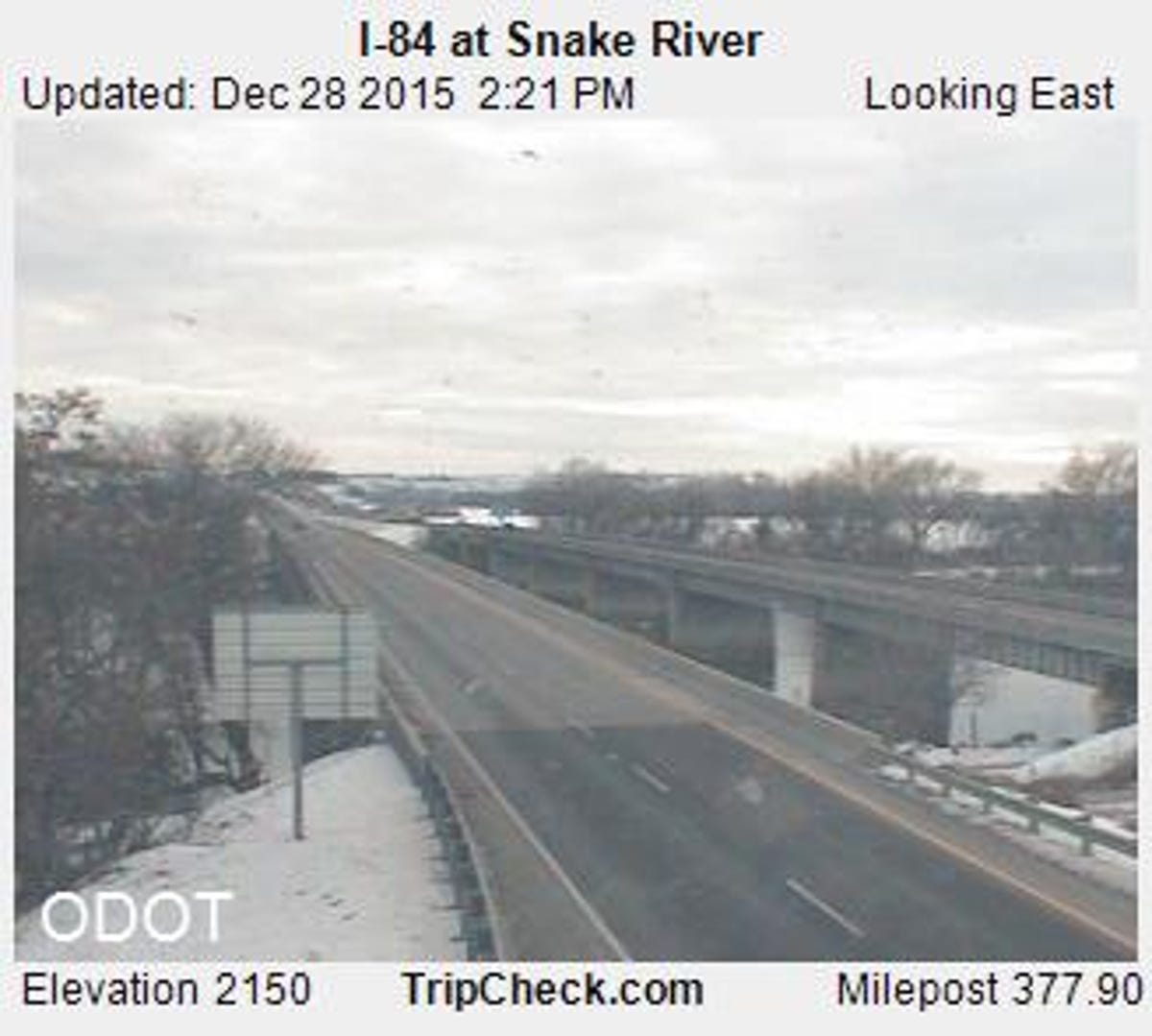 WB I-84 back open between Ontario and Pendleton