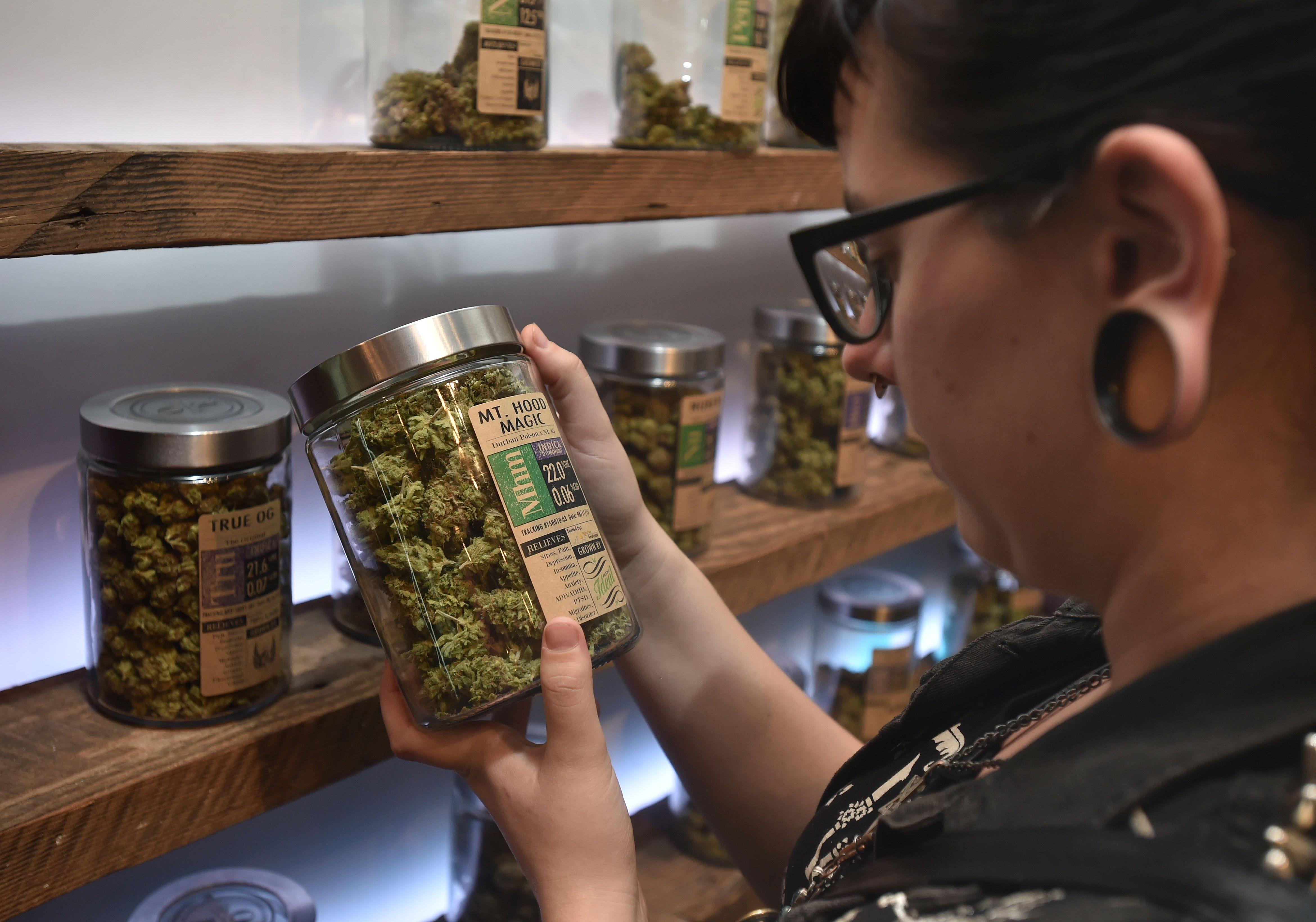 11 states least likely to legalize marijuana