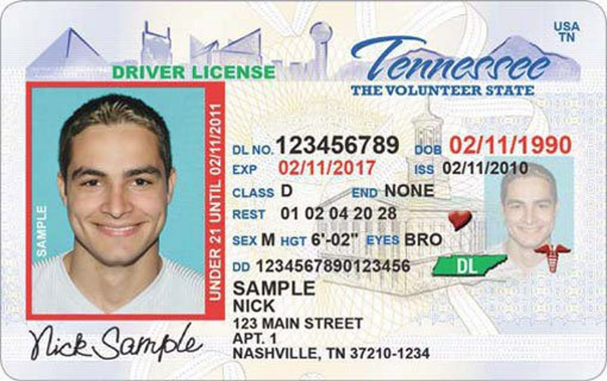 drivers license test chattanooga tn