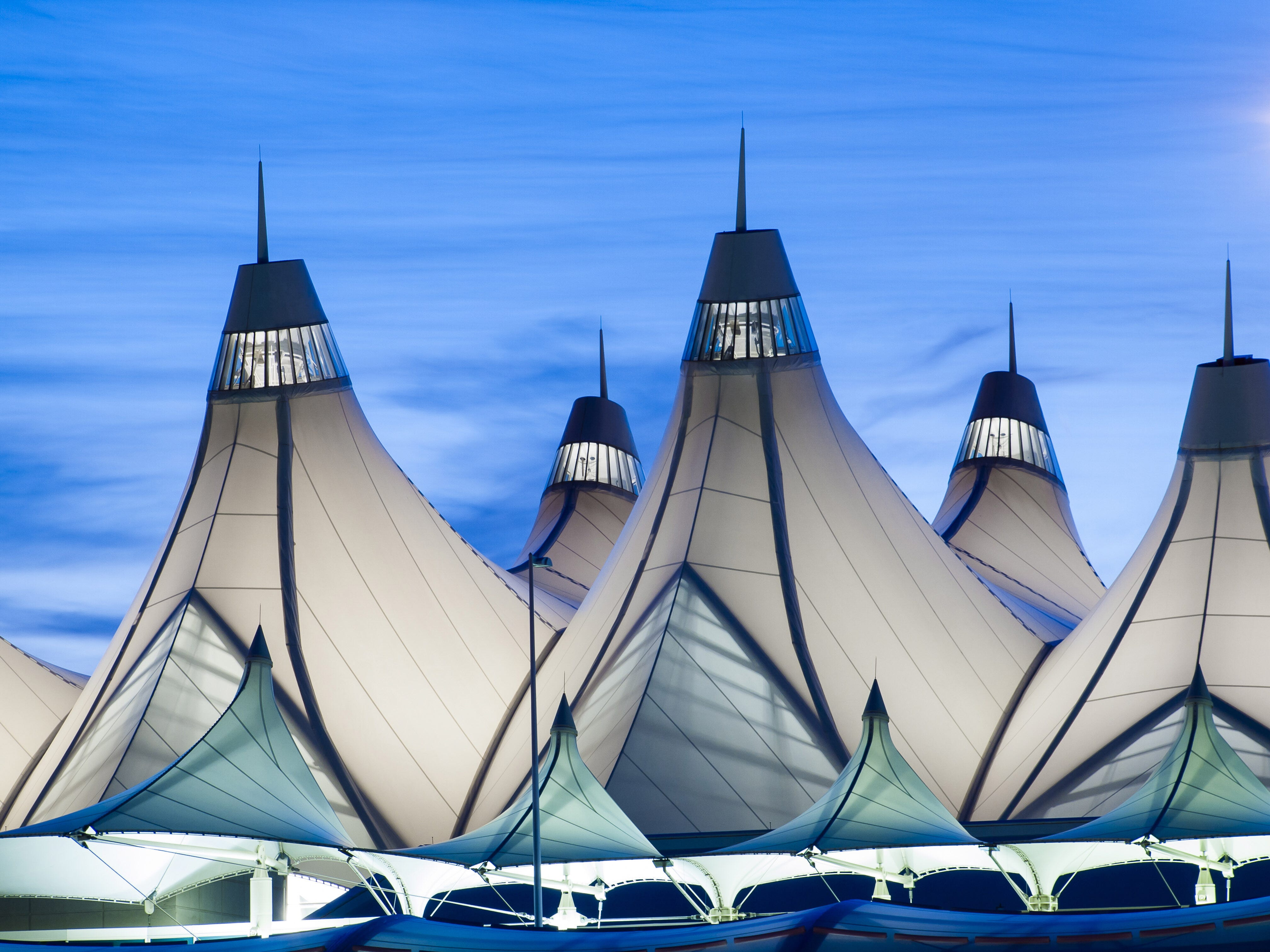 Denver airport just had its busiest month ever   USA Today
