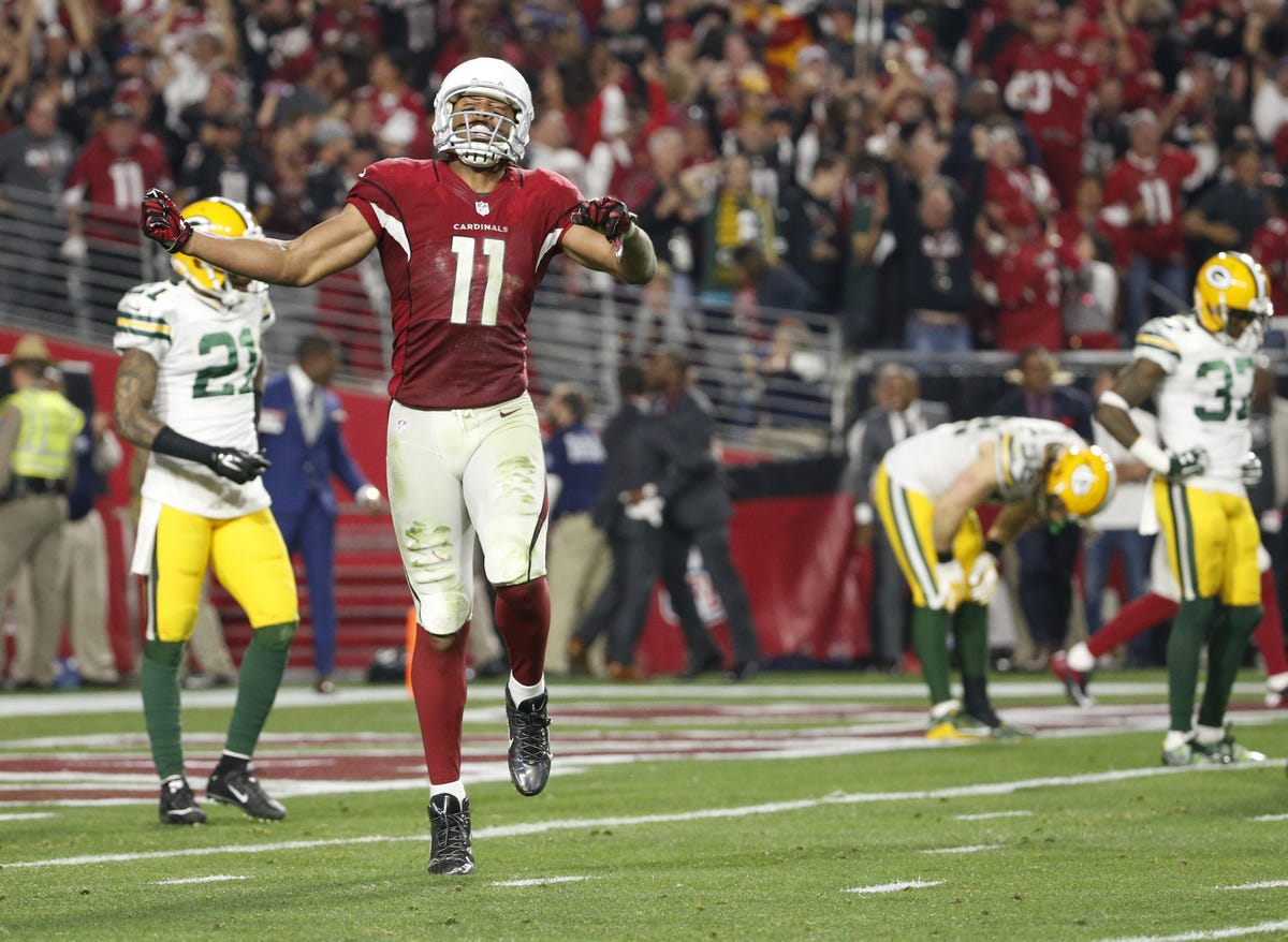 Larry Fitzgerald comes up big in Arizona Cardinals' playoff win
