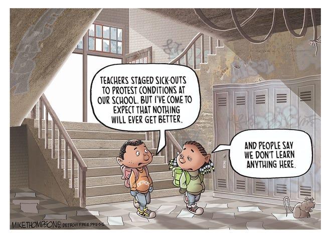 Detroit schools are a national embarrassment.