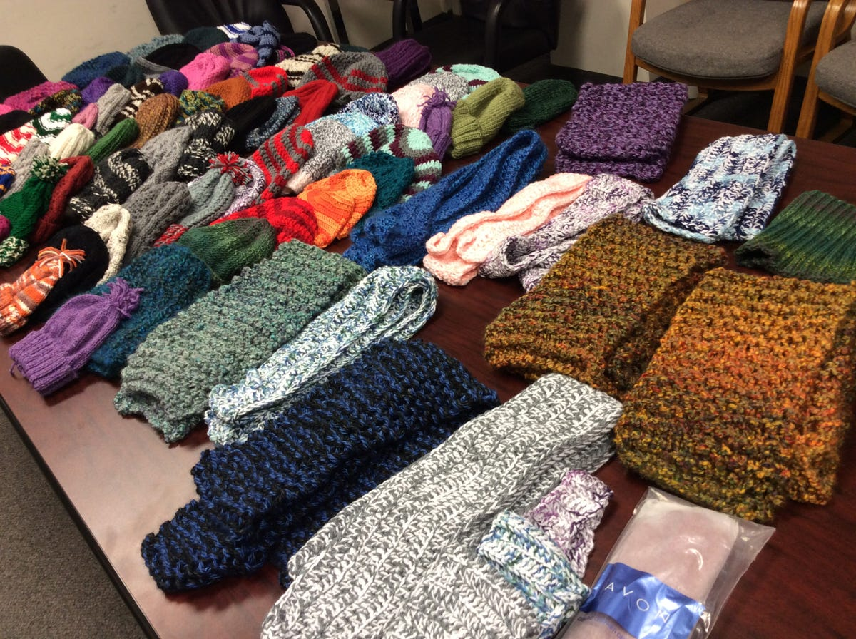 Lessons from knitting hats for the homeless