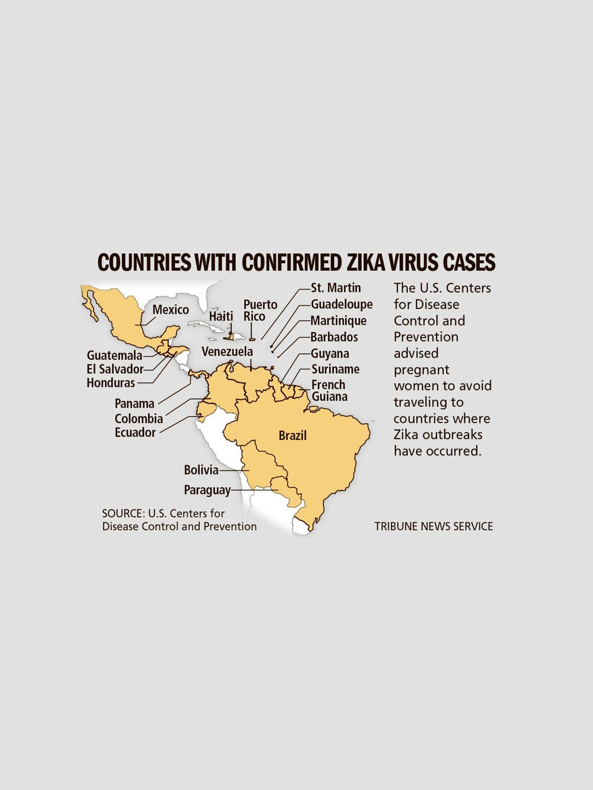 Zika virus prompts new travel alerts, airfare refunds on west nile virus map, japanese encephalitis map, yellow fever map, powassan virus map,