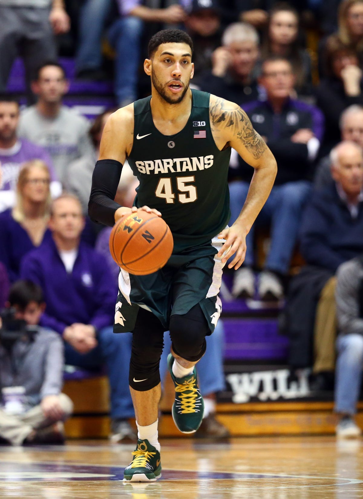 Spartans take golden opportunity to lace up for Lacey