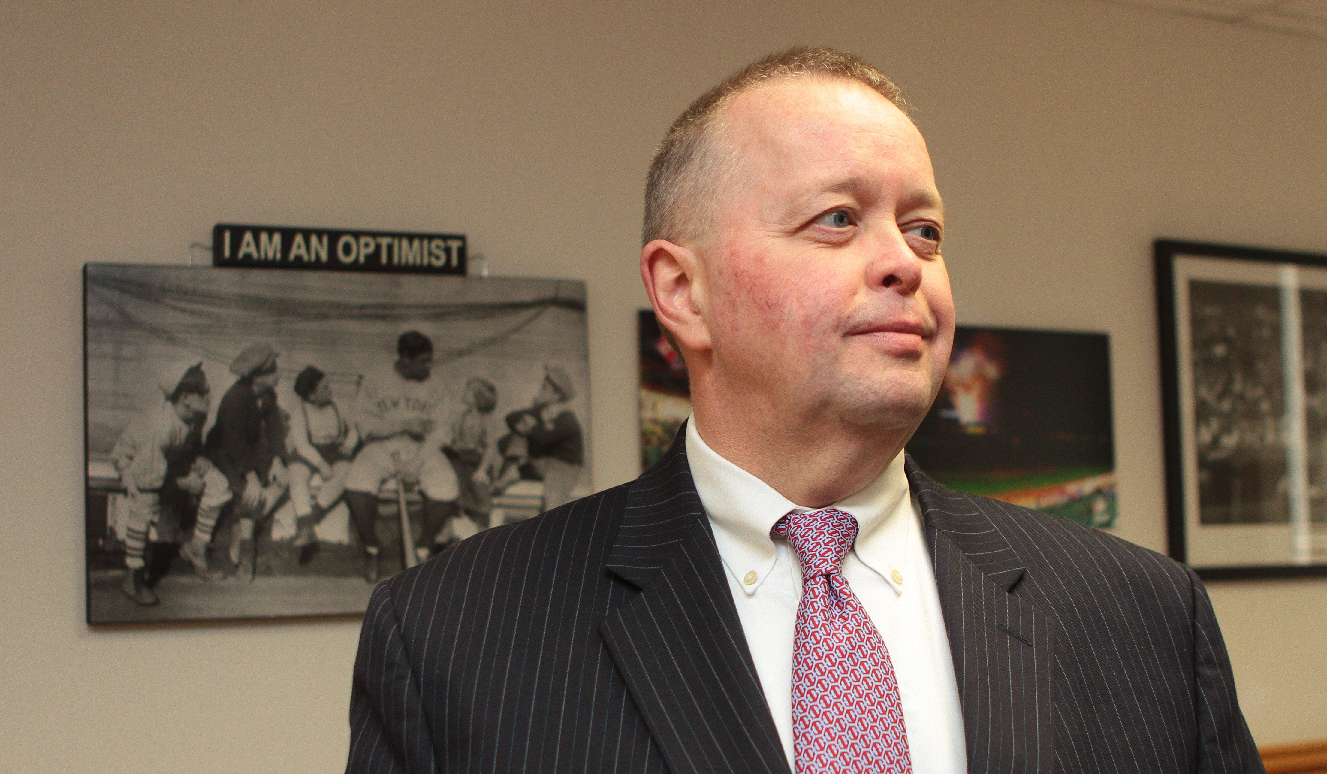 Ramapo Police Chief Brad Weidel, pictured at his 2016 swearing-in, was paid $639,504 during his final year on the job, which included payouts for unused time of $261,476.