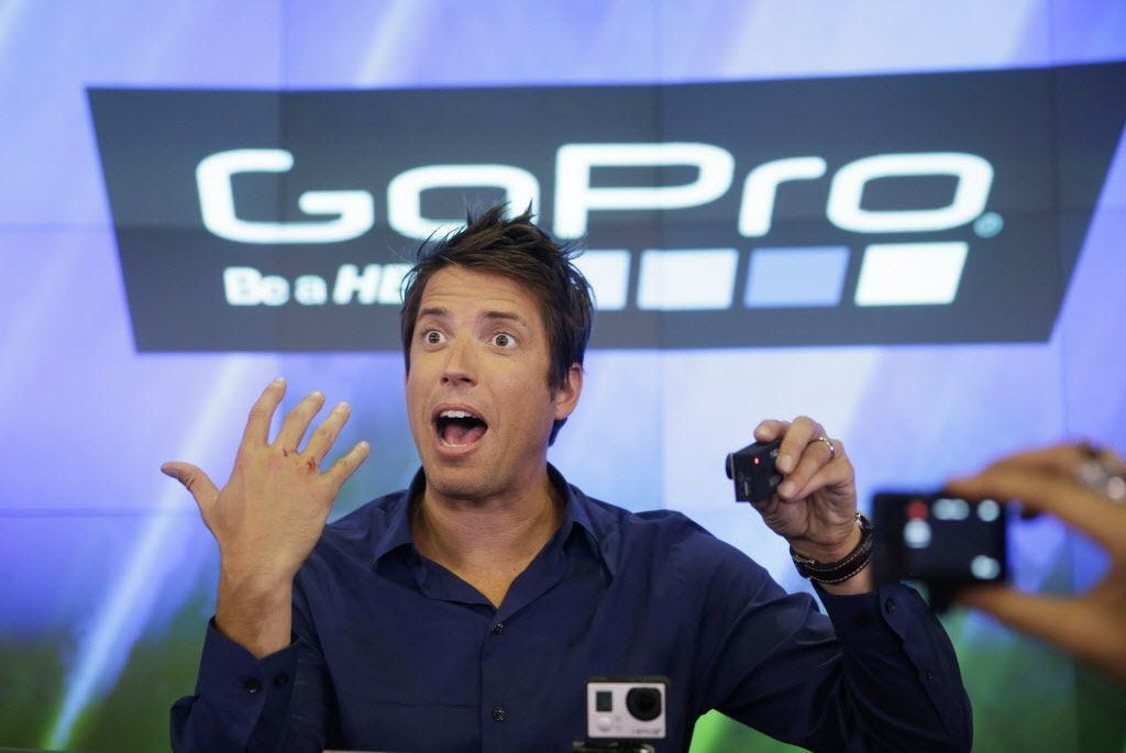 GoPro to cut 270 jobs, shares surge