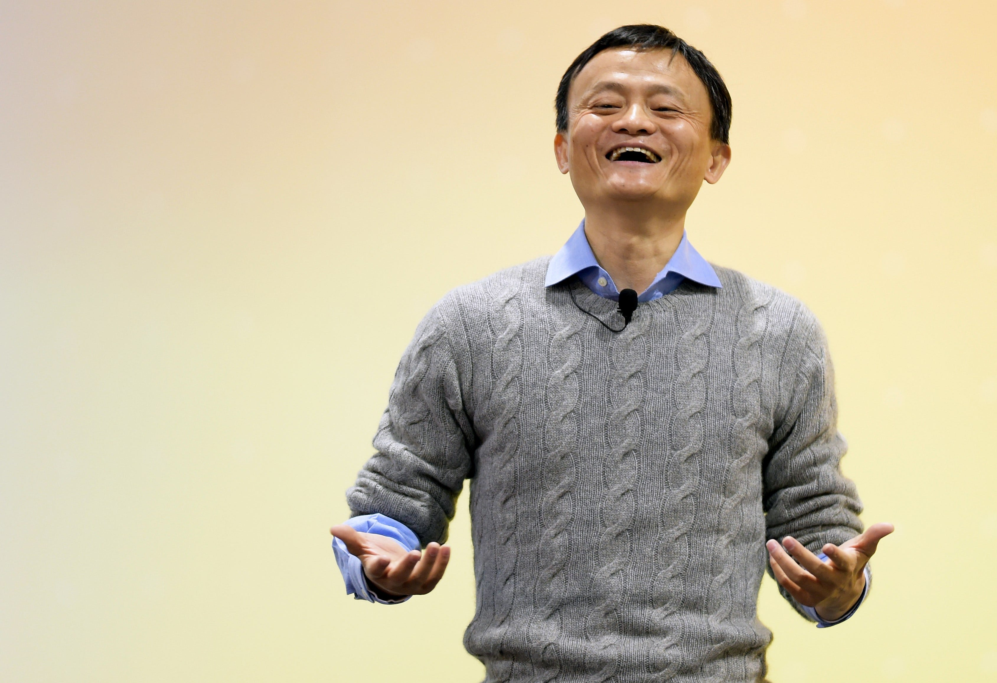 The next great CEO could be a robot, Alibaba's Jack Ma says