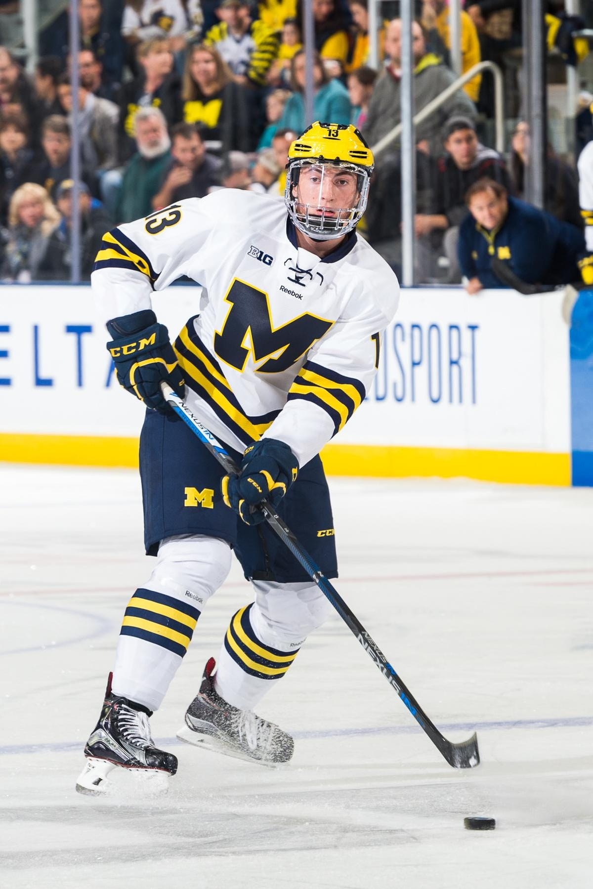 factory price 44a57 17085 Michigan's Zach Werenski out to play iron 'D' vs. MSU
