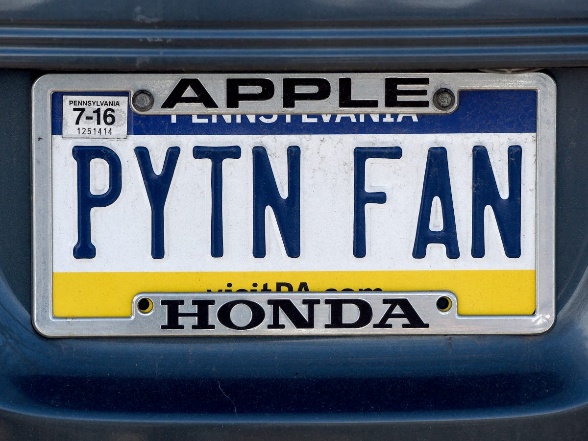 Personalized license plates in Pa : These ones are banned