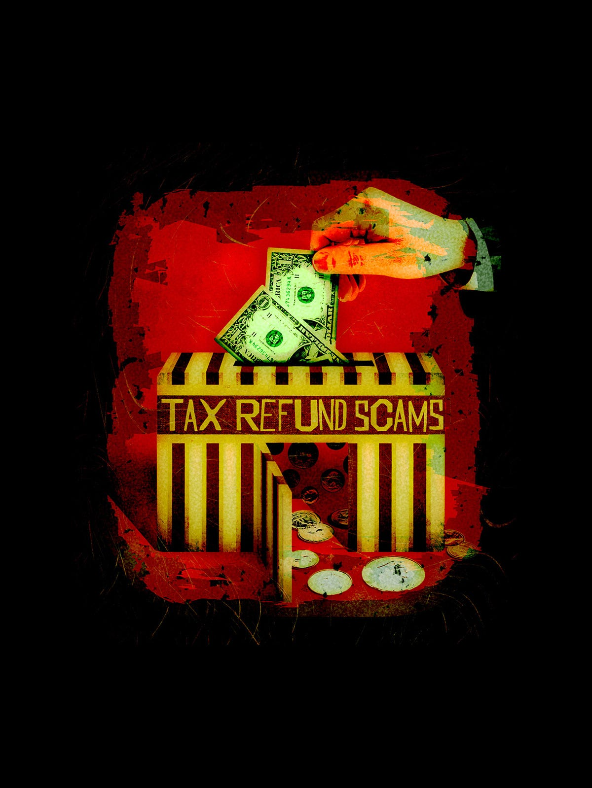 Don't give fraudsters a hand filing a fake tax return