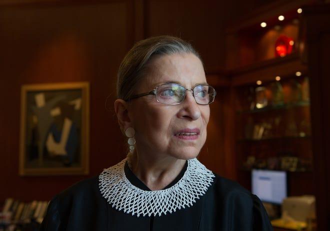Supreme Court JusticeRuth Bader Ginsburg, 87, died Sept. 18, 2020.