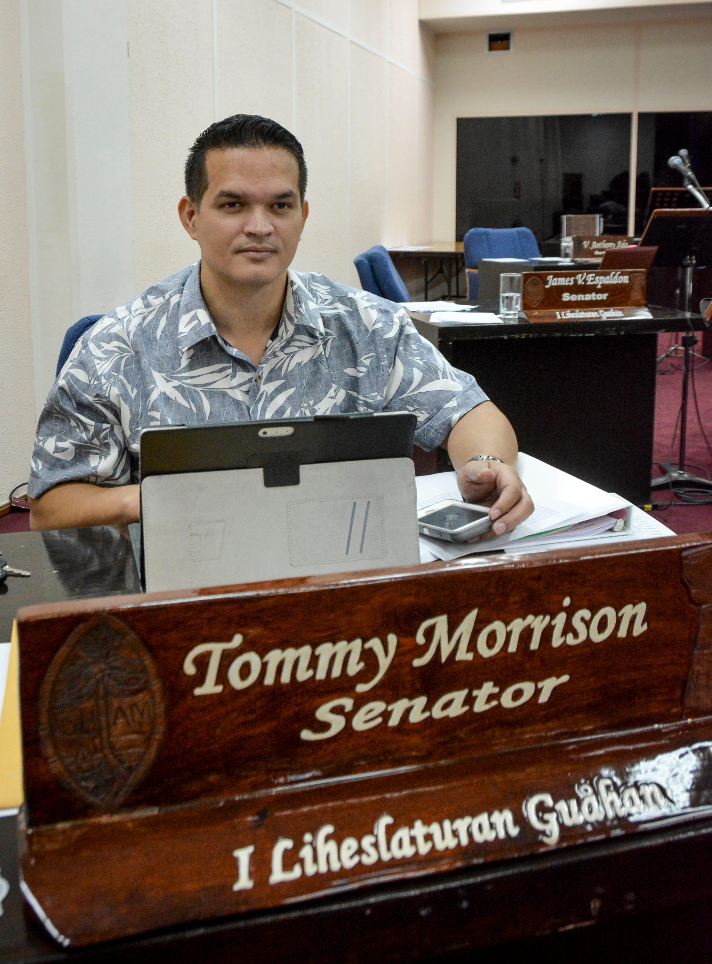 Sen. Tommy Morrison, R-Umatac