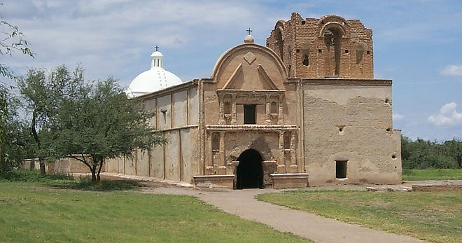 Tumacácori National Historical Park protects the ruins of early Spanish missions.