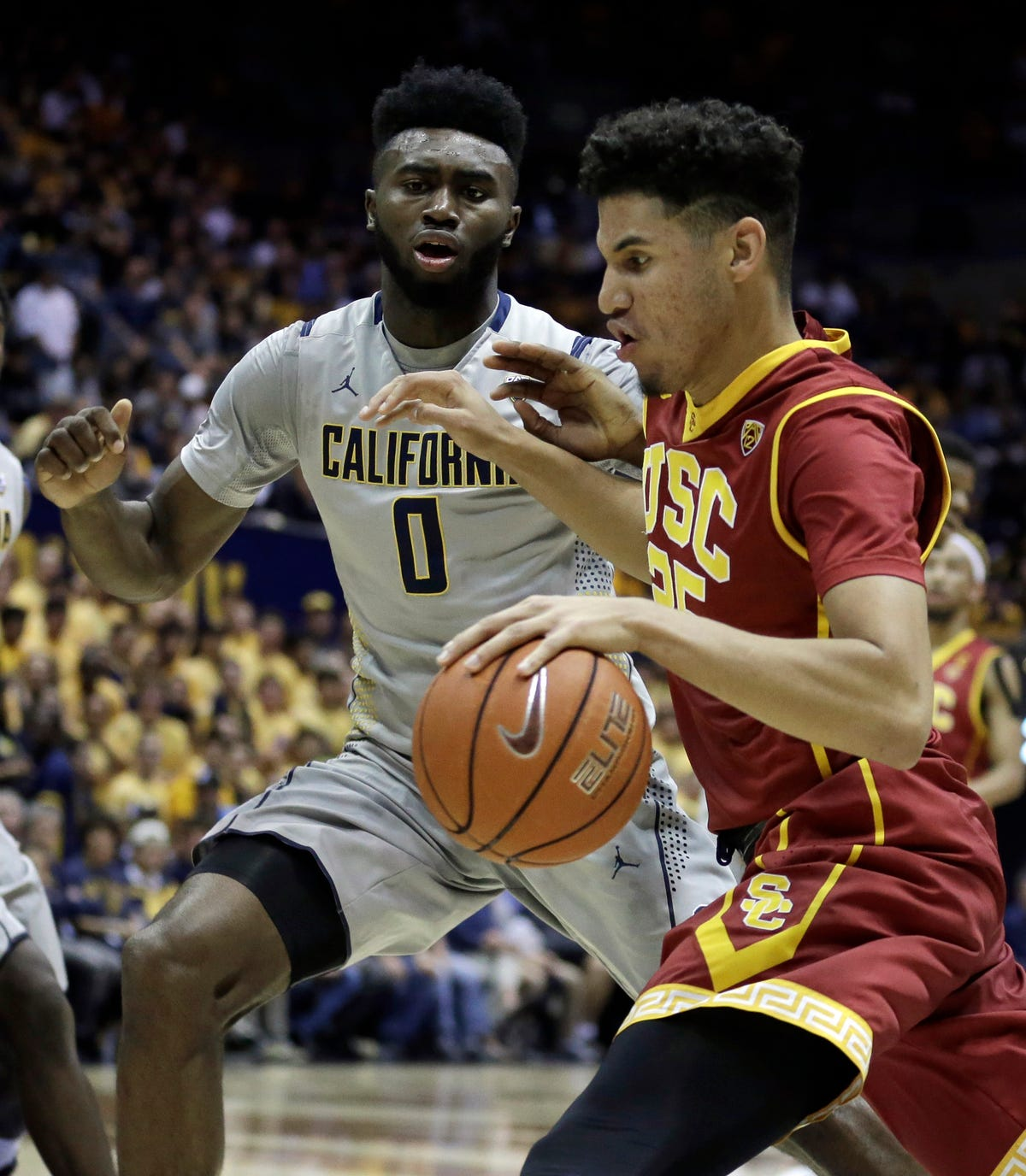 separation shoes 55036 99c66 Cal beats USC 87-65 to finish season unbeaten at home