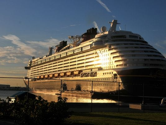 635926239731825427-635917407666907735-Disney-Dream Disney Cruise Line continues to base two largest ships at Port Canaveral through 2019