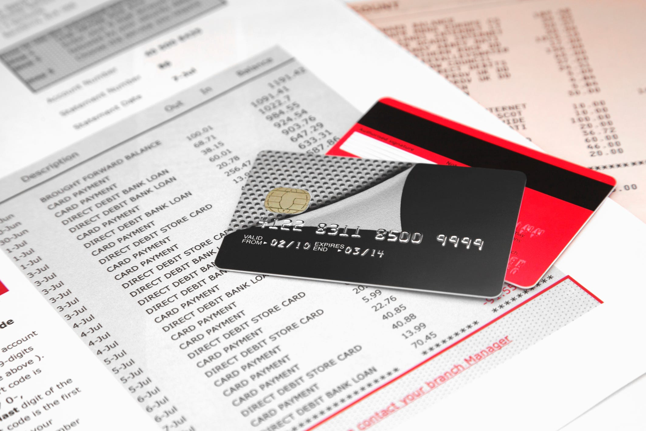 Make the most of year end credit card statement at tax time