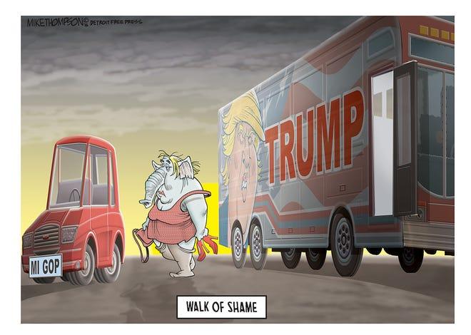 Donald Trump wins the Michigan Republican primary