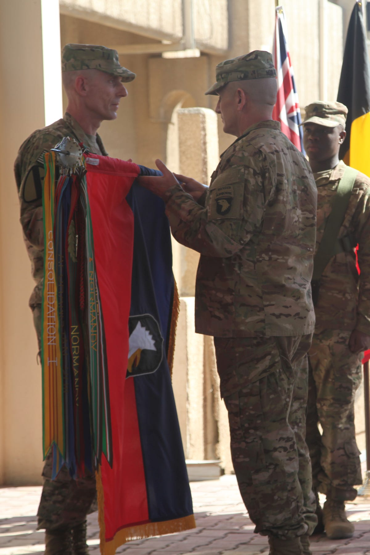 101st Airborne assumes command in Iraq