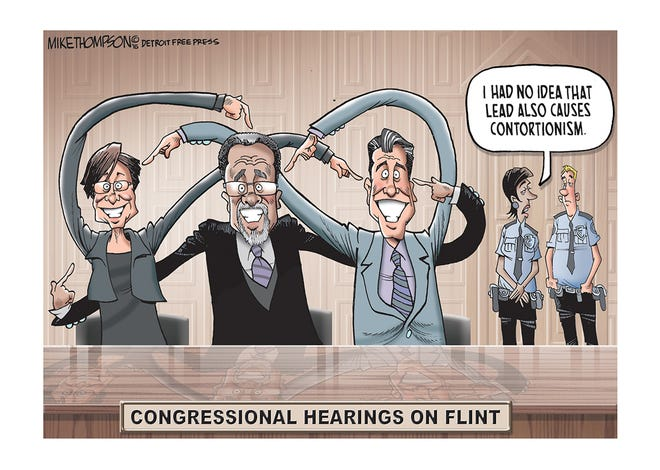 The heated Congressional hearings on Flint