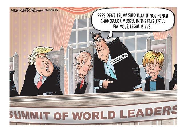 Imagining a Trump presidency.