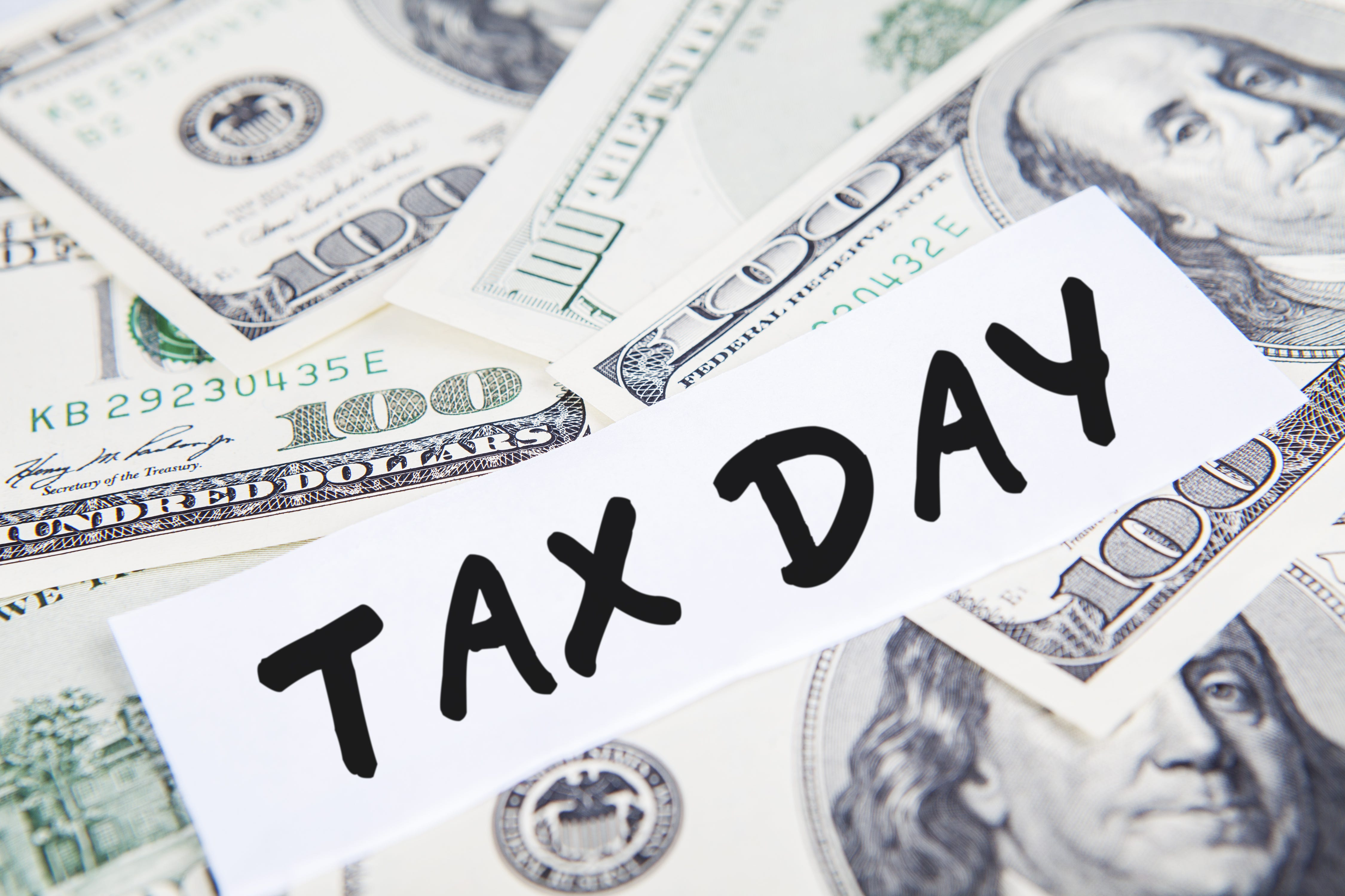 Tax Day is on April 18 this year, not April 15