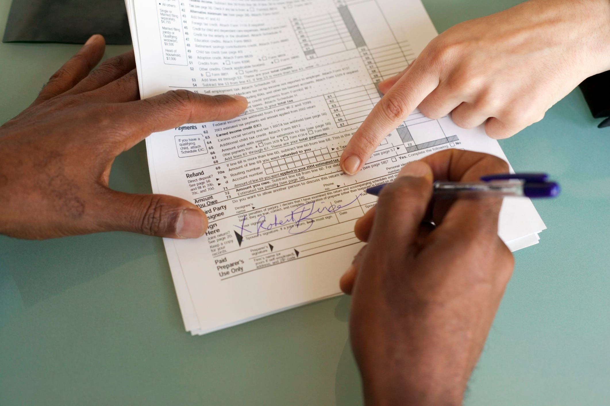 5 tax tips for first time filers