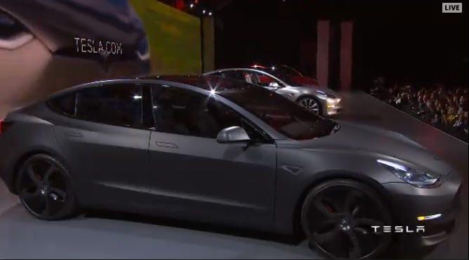 Dawn Enterprises FE-Tesla-3 Finished End Body Side Molding Compatible with Tesla Model 3 Midnight Silver PMNG