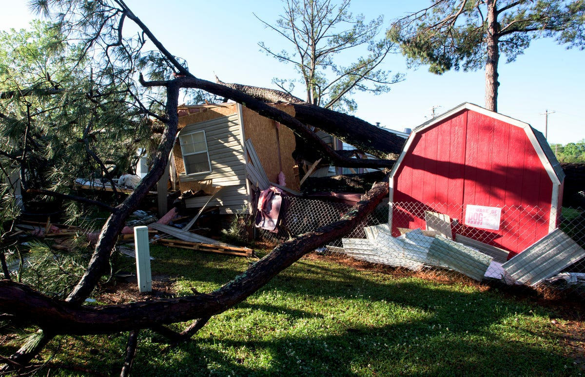 Pike Road community hit by tornado
